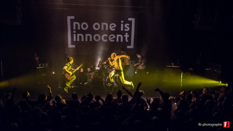No One is Innocent @ Vip (Saint Nazaire) - 19 avril 2018