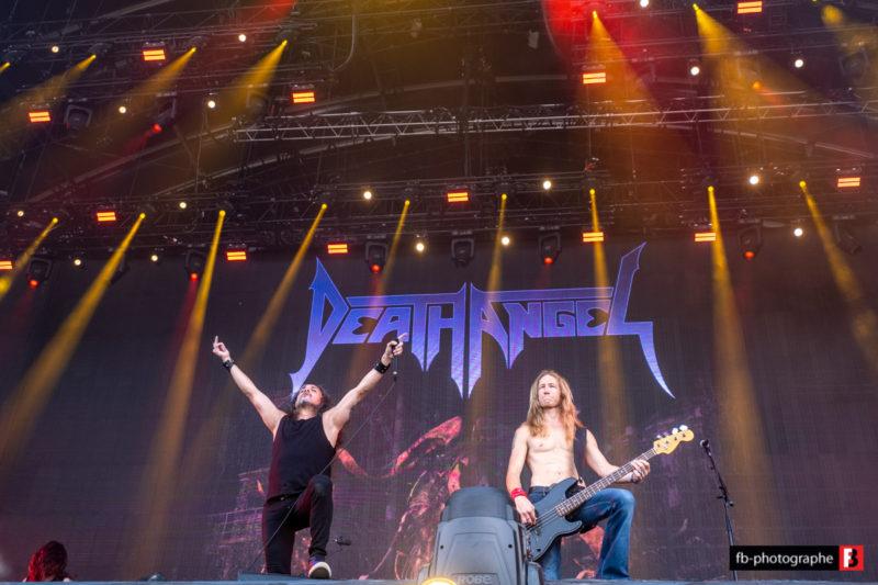 Death Angel @ Hellfest (Clisson) - 23 juin 2019