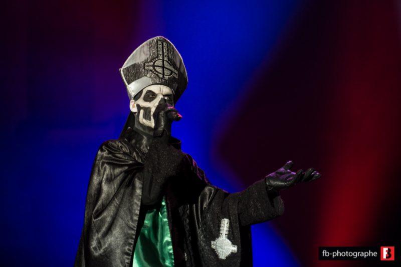 Ghost @ Hellfest (Clisson) - 23 juin 2013