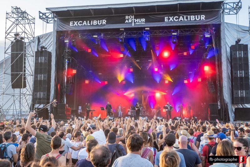 Emir Kusturica @ Festival du Roi Arthur (Breal sous Montfort) - 24 aout 2019