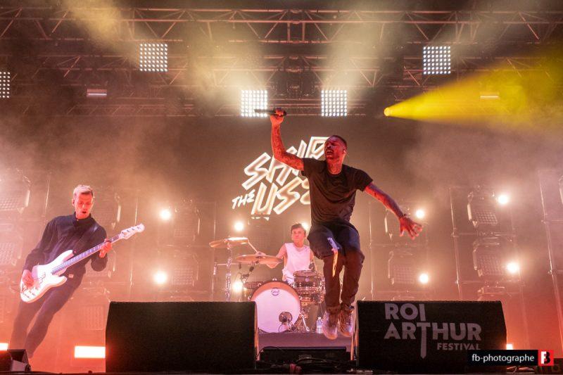 Skip The Use @ Festival du Roi Arthur (Breal sous Montfort) - 24 aout 2019