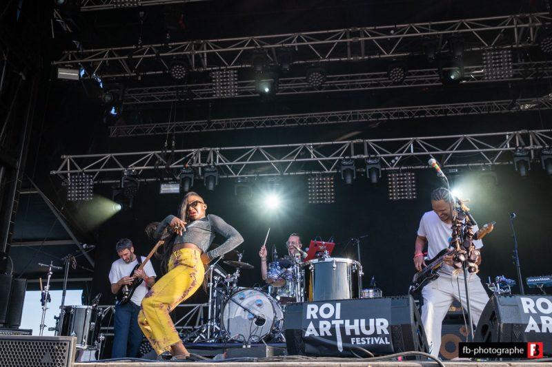 Tshegue @ Festival du Roi Arthur (Breal sous Montfort) - 24 aout 2019
