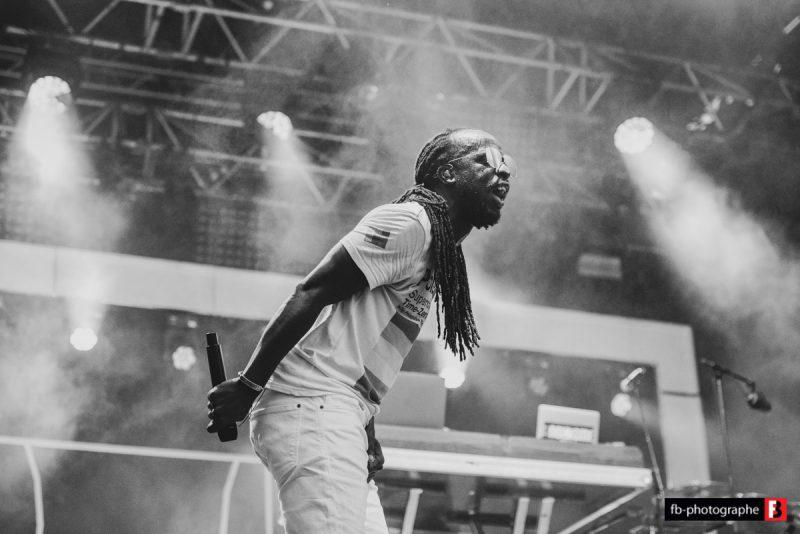 Youssoupha @ Festival du Roi Arthur (Breal sous Montfort) - 24 aout 2019